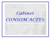Cabinet CONSOM'ACTES